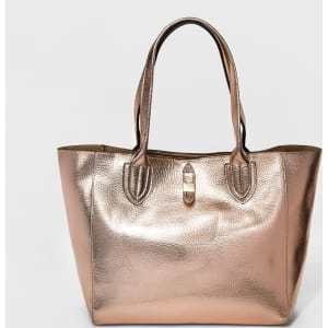 Women's Tote Bags - A New Day Rose Gold