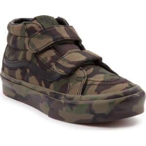 c71c600ca514 Youth Tween Vans Sk8 Mid Reissue V Camo Skate Shoe from Journeys.