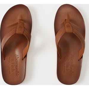 991b63b7e3222 Leather Flip Flops from Abercrombie   Fitch.