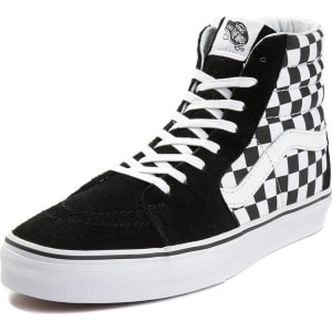 Vans Sk8 Hi Chex Skate Shoe from Journeys. 677ce9cce333