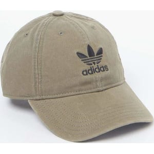 e93f6a2fb1a Adidas Washed Canvas Baseball Cap - Olive from PacSun.