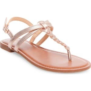5b6e831bce1 Women s Jasmine Slide Sandals - Merona Gold 7 from Target.