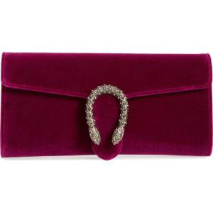 d3e9c6555615 Gucci Dionysus Velvet Clutch - Purple from Nordstrom.