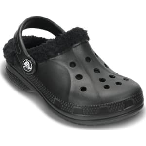 62f2cb102b4a4 Crocs Black / Black Kids' Ralen Fuzz Lined Clog Shoes from Crocs.