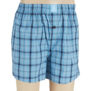 1c5783d76626 Psycho Bunny Plaid Woven Boxers from Dillard's.