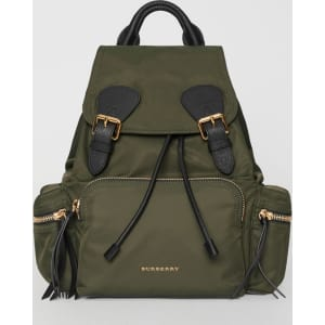 1f5523f2d7c9c Burberry the Medium Rucksack in Technical Nylon and Leather