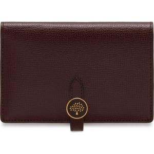 2f38445fcf Mulberry Tree Medium Wallet in Oxblood Cross Grain Leather from ...