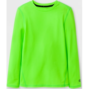 5a93d65ab689 Boys' Power Core Brushed Compression Long Sleeve Crew T-Shirt - C9 ...
