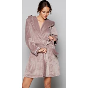 B By Ted Baker Fawn Embossed Bow Dressing Gown From Debenhams