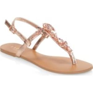 f1e944c08a3d Womens Lipsy Jewel Sandals - Gold from Next.
