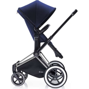 Cybex Priam Chrome All Terrain Chassis With 2 In 1 Seat Royal Blue