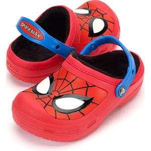 9bd860c0e Little Boy Crocs Spider-Man Faux Fur Lined Clogs from Boscov s.