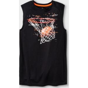 c42501a6eb66 Boys  Hoop Dreams Sleeveless Graphic Tech T-Shirt - C9 Champion Black Xl  from Target.