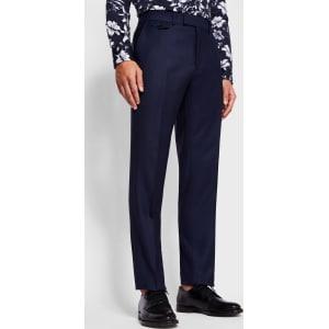 Sterling Regular Birdseye Wool Suit Trousers Ted Baker