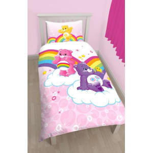 Kids Multicoloured Care Bears Bedding Set From Debenhams