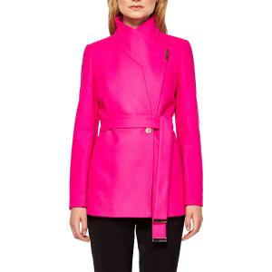 official shop exclusive shoes ever popular Ted Baker Keyla Short Wrap Coat from John Lewis & Partners.