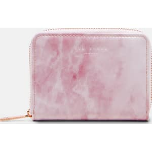 556c212f602c Rose Quartz Leather Mini Purse Pink from Ted Baker.