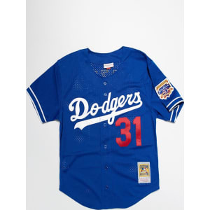 new product 86e9e c0a82 Mitchell & Ness Dodgers Mike Piazza Jersey - Royal Blue