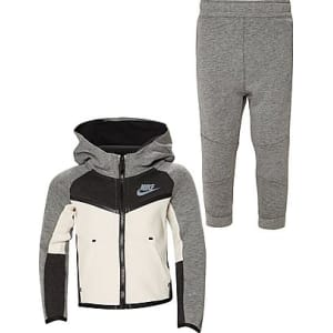 buy online fd3c1 13820 Nike Sb Tech Fleece Two-Piece Tracksuit Infant - Grey White - Kids ...