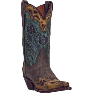 9d20f550f82 Danpost Women s Vintage Blue Bird Chocolate Teal 11 Blue Bird Cowboy ...