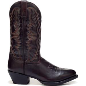 a2bca903cb6 Laredo Men's Birchwood Medium/Wide Cowboy Boots (Black Cherry Leather)