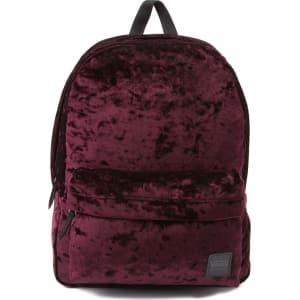 5e96ce66421 Vans Deanna Crushed Velvet Backpack from Journeys.