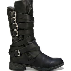3167de588 Report Women s Hugo Moto Boots (Black) from Famous Footwear.