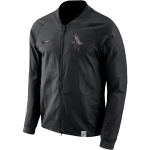 best website 77d01 26c40 Houston Rockets Nike Nba Team Modern Varsity Jacket - Mens - Black ...