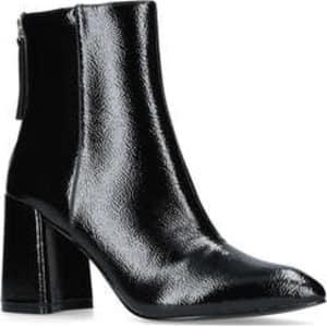 Miss Kg Secret - Black Mid Heel Ankle Boots from Kurt Geiger. 5a597d568