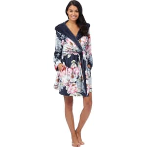 655457d75c23 B by Ted Baker Multi-Coloured  Pure Peony  Floral Print Hooded ...