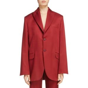 Women S Acne Studios Jaria Suit Jacket Size 6 Us 36 Eu Burgundy