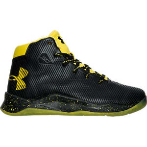 e213c90b1a6ed Under Armour Boys' Preschool Curry 2.5 Basketball Shoes, Black