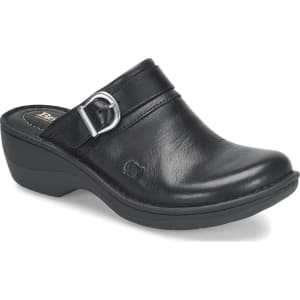 Avoca Leather Clogs
