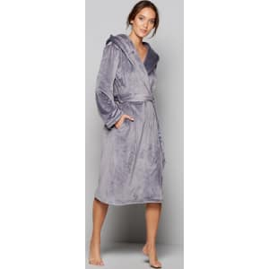 B By Ted Baker Grey Hooded Dressing Gown From Debenhams