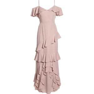 a1c908f4a2 Women's Wayf Danielle Off the Shoulder Tiered Crepe Dress, Size Xx ...