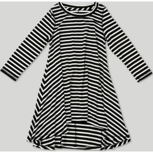 4a7d75ab1 Toddler Girls' Afton Street Striped A Line Skirt 5T, Black from Target.