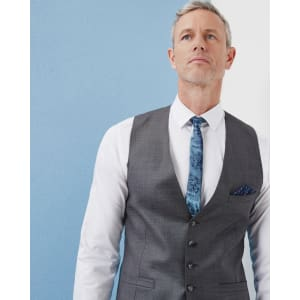 6dd794bd8ad3 Debonair Wool Vest from Ted Baker.