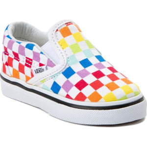 Toddler Vans Slip On Rainbow Chex Skate Shoe from Journeys. a83ba6656