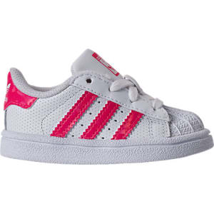 32d5b3159 Adidas Girls' Toddler Superstar Casual Shoes, White from Finish Line.