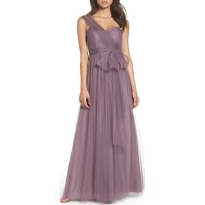 1f977a5667 Women's Jenny Yoo Annabelle Convertible Tulle Column Dress, Size 14 ...