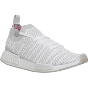 buy popular e5bb6 2eacb Adidas Nmd R1 White Grey Solar Pink