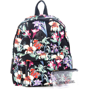 b6aa38ed709 Madden Girl Backpack - Black Floral from Boscov's.