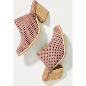 8ab8595a721 Jeffrey Campbell Favela Perforated Mules from Anthropologie.