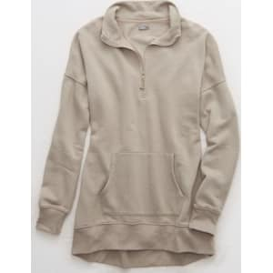 Aerie Fleece Quarter Zip From American Eagle Outfitters