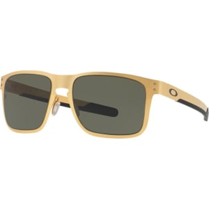 d85bce0ee2 Oakley Oo4123 55 Holbrook Metal Gold Square Sunglasses from Sunglass ...