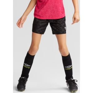 2d62a1721 Plus Size Umbro Girls' Checkerboard Shorts - Black L Plus from Target.