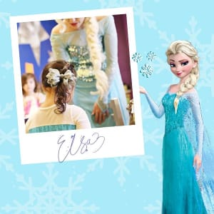 Paint With A Princess – Featuring Elsa!