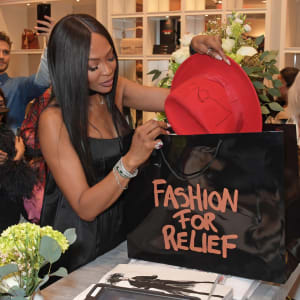 Naomi Campbell's Fashion For Relief Pop-Up