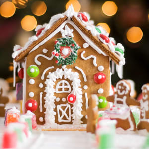Decorate Your Own Gingerbread House