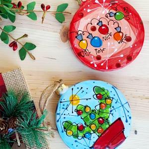 Mommy & Me: Fingerprint Ornament Set